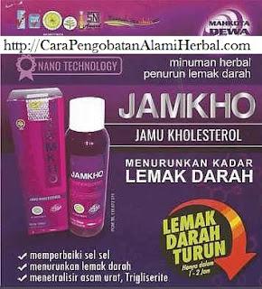 Cara pengobatan kolesterol tinggi dg Jamkho herbal tradisional