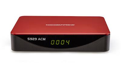 TocomFree S929 ACM Atualização V1.22 29/06/2017