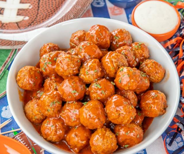 Buffalo Ranch Meatballes