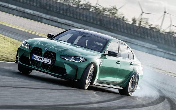 Novo BMW M3 2021