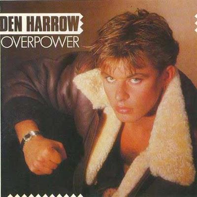 La copertina di ''Overpower'', il primo album di Den Harrow