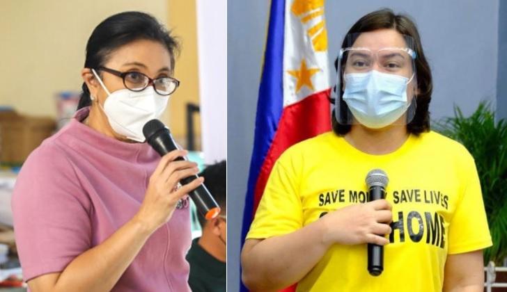 Robredo reacts on Sara topping poll