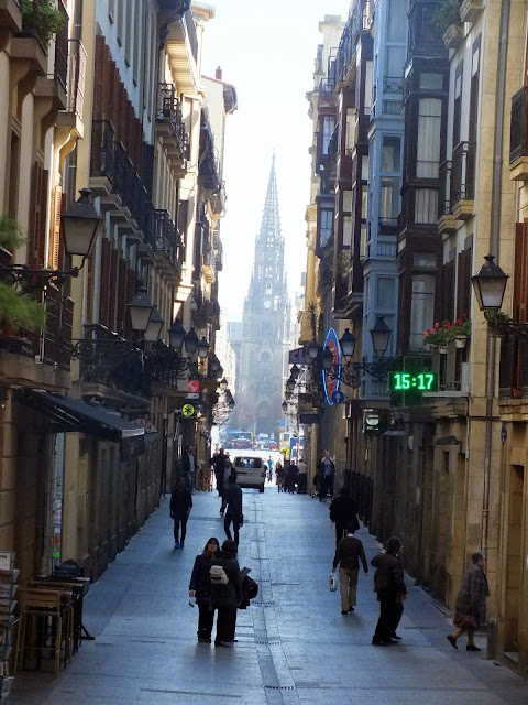 calle antigua San Sebastián