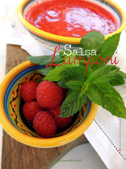 Salsa di lamponi - www.lapasticceriadichico.it