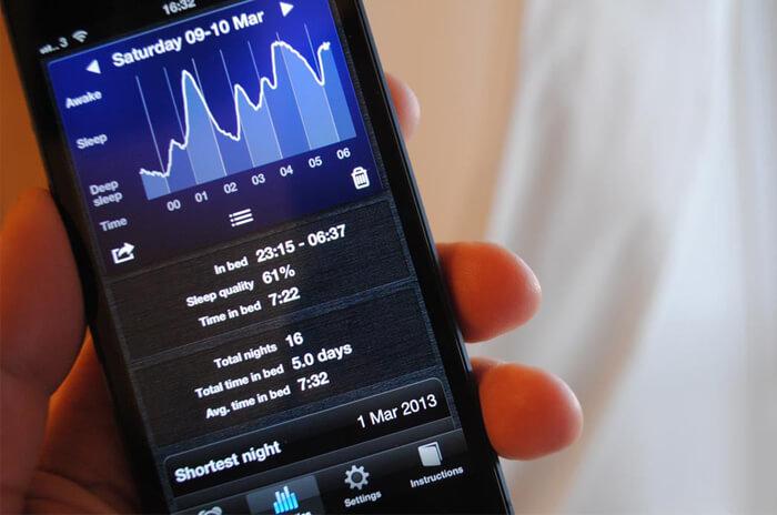App Sleep cycle per gestione cicli di sonno