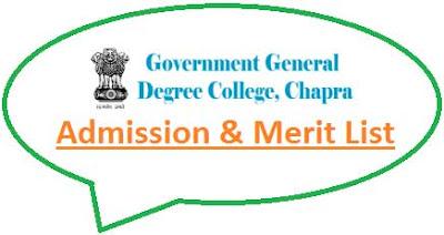 Chapra Govt College Merit List