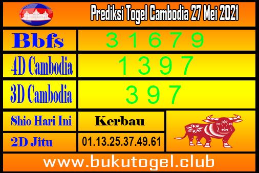 Prediksi Togel Cambodia 27 Mei 2021