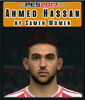 PES 2017 Faces Ahmed Hasan by Sameh Momen
