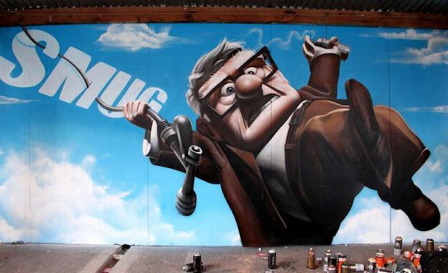 SmugOne - рисунки на стенах 37