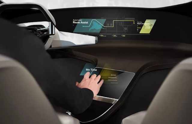 tactile holograms in your car: this is how BMW wants to conquer the drivers of the future