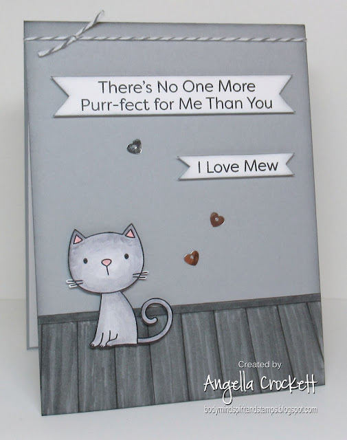 My Favorite Things Purr-fect, Card Designer Angie Crockett