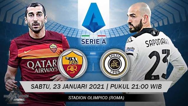 Prediksi AS Roma Vs Spezia