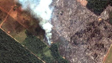 Η Βραζιλία αποδέχεται βοήθεια για τις φωτιές στον Αμαζόνιο