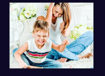 الدلع الزائد للاطفال