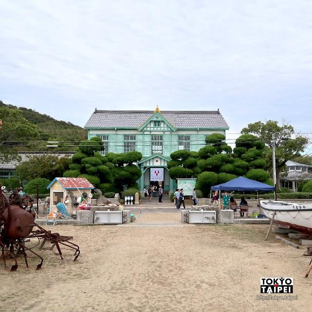 【粟島海洋記念館】曾經日本最初海員學校 大正時代浪漫綠色建築