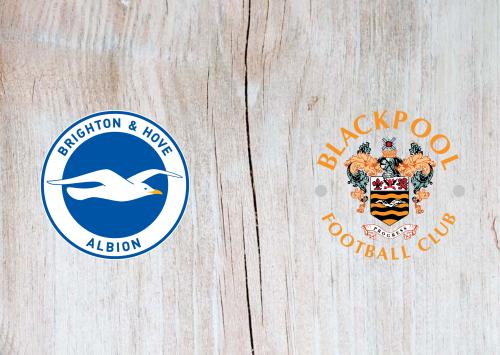 Brighton & Hove Albion vs Blackpool -Highlights 23 January 2021