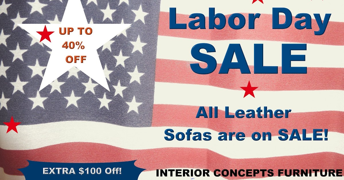 Comfy Couch Labor Day Sale