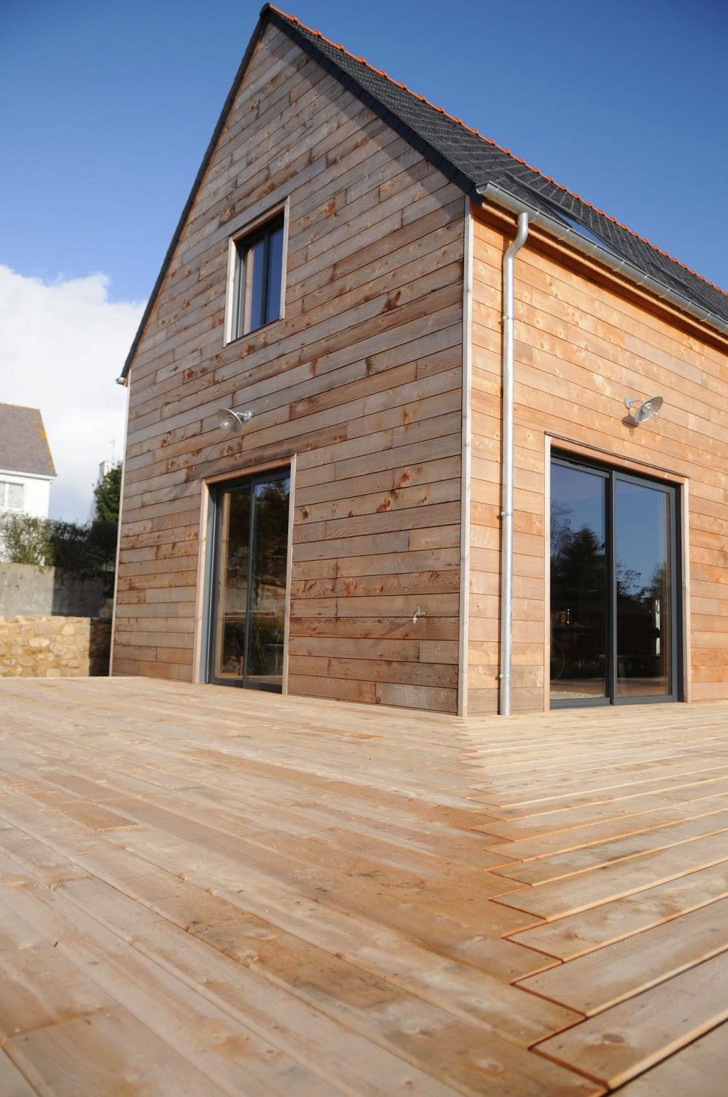 Echopaille- Maison écologique ouate de cellulose maison plage