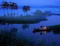 【原創】742 《七律.漁舟唱晚》 - 沧海一粟 - 滄海中的一粒粟子