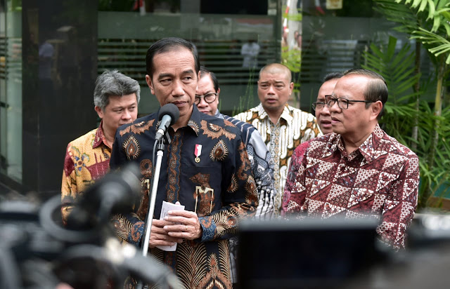 Bertemu Pengurus KWI, Jokowi Sampaikan Menjaga Keragaman, Kerukunan, dan Persatuan