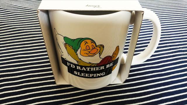 Sleepy mug from Typo