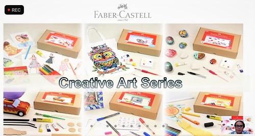 creative art series faber-castell
