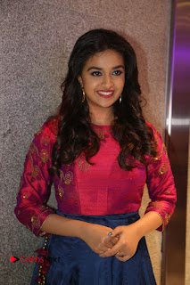 Actress Keerthi Suresh Stills at Remo Success Meet  0008.JPG