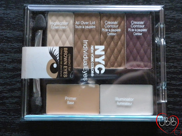 NYC IndividualEyes Palette in Union Square for Brown Eyes