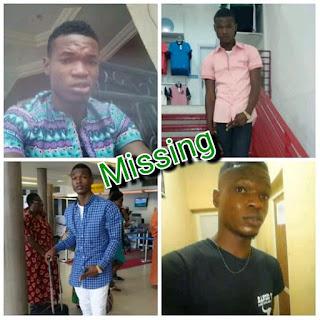 400-Level IMSU Student Goes Missing