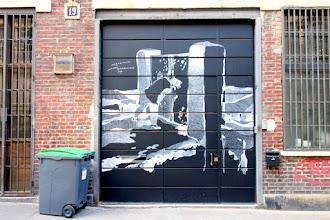 Sunday Street Art : Philippe Baudelocque - rue Hégésippe Moreau - Paris 18