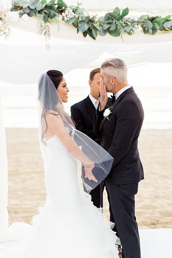 Elegant And Classy Malibu Winter Beach Wedding At The
