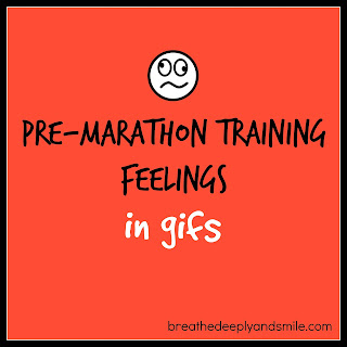 Pre-Marathon Training Feelings in Gifs