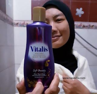 Mandi Parfum Pakai Vitalis Body Wash
