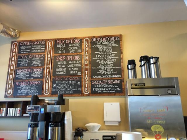 Brewpoint Coffee House menu