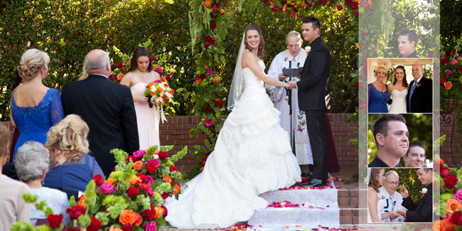 wedding ceremony photos - wedding album - North Ranch Country Club wedding - Studio 101 West, Atascadero CA