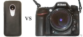 Cramer Imaging's photo graphic comparing smart phones to DSLR cameras