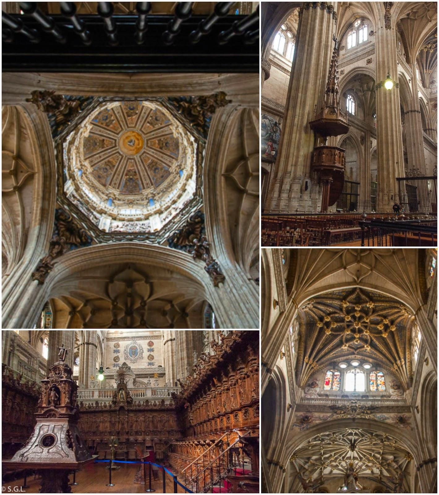 Fotografia del Interior catedral nueva Salamanca