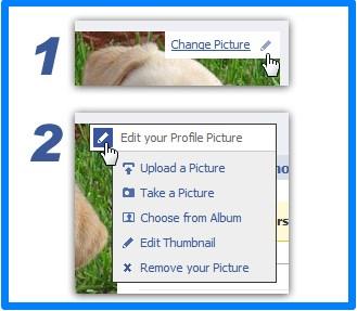 facebook delete temporary profile picture