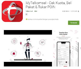 Cara Menggunakan Aplikasi My Telkomsel