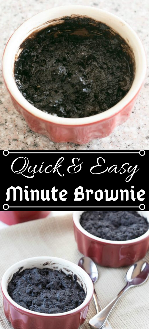 One Minute Chocolate Brownie in a Mug Cake #healthydiet #cake #paleo #keto #lowcarb