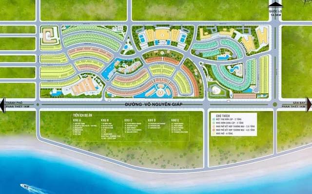 mat bang phan lo summerland resort