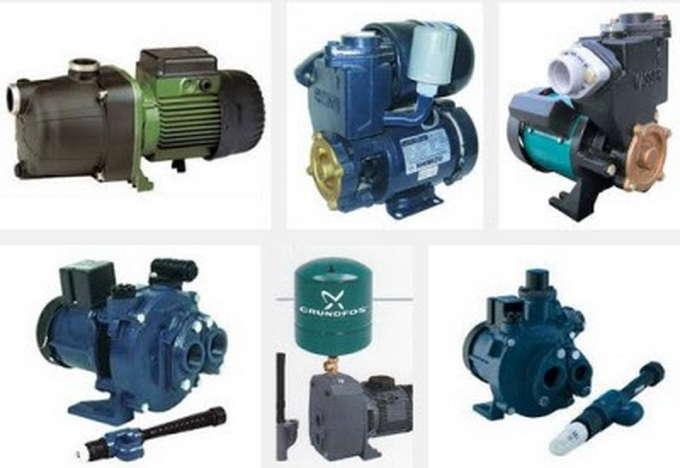 Cara memilih pompa air