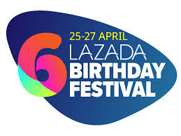 Happy 6th Birthday Lazada- Syok Shopping Di Lazada