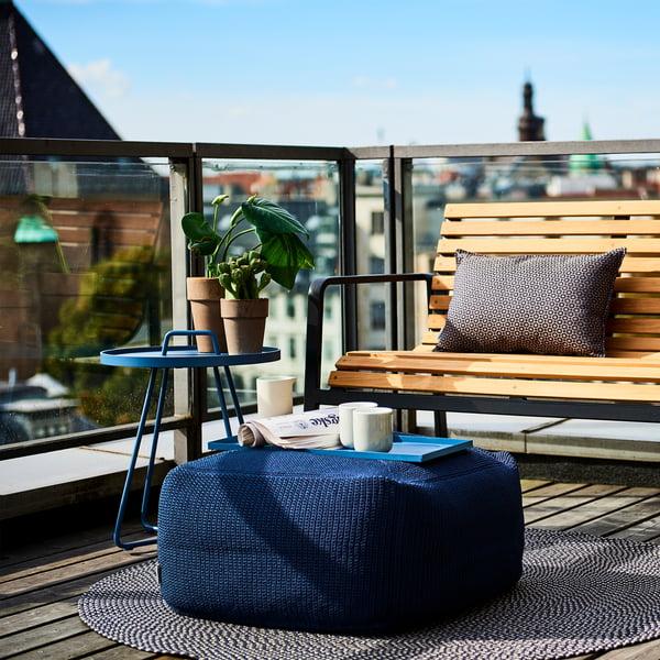 ławka na balkon 90 cm