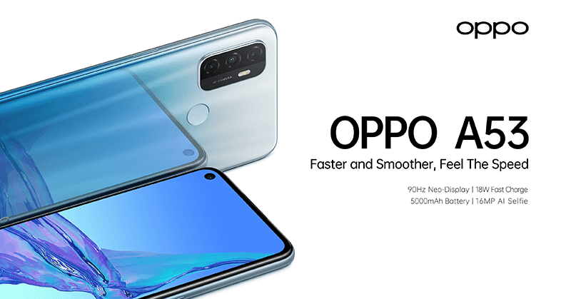 OPPO A53 2020 with 90Hz screen arrives in PH for PHP 8,990!
