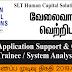 Vacancy In SLT Human Capital Solutions (Pvt) Ltd