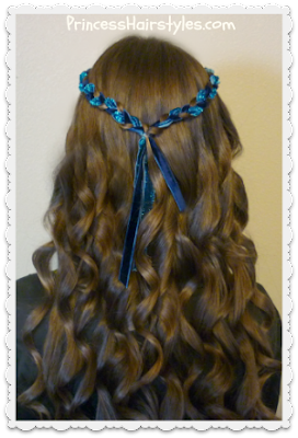 Evie hairstyle for halloween