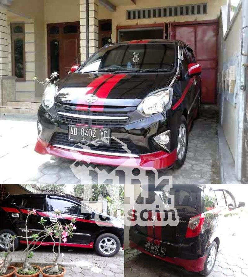 5100 Modif Cutting Sticker Mobil Agya Merah Gratis Terbaru