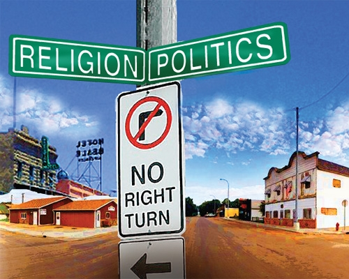 The intersection between politics and religion