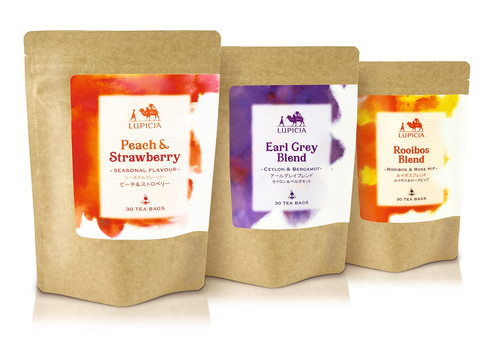 ASKUL Herbal Teas on Packaging of the World - Creative ...